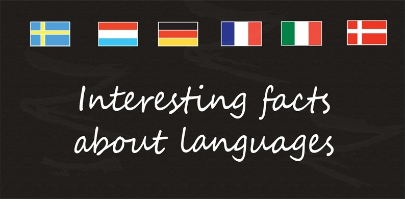 Interesting facts about languages LanEng